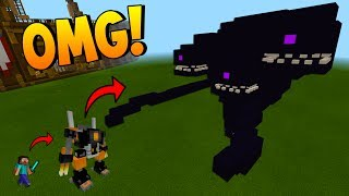 WITHERBUSTER VS WITHER DEMON AND WITHER STORM | EPIC MODS | Minecraft Pocket Edition