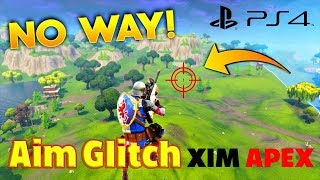 Fortnite Xim Apex Aim Assist Glitch!!!!!