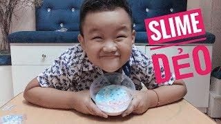 CÁCH LÀM SLIME DẺO CHỈ 5 PHÚT CỰC DỄ | HOW TO MAKE SLIME | KOQ KIDS TV