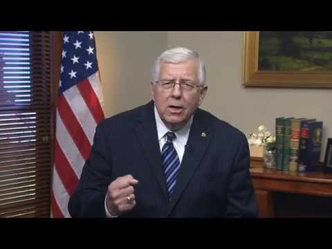 5/31/14 Sen. Mike Enzi (R-WY) delivers Weekly GOP Address on costly energy regulations