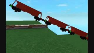 ROBLOX: FEPASA Train Derailment