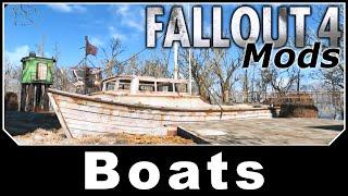 Fallout 4 Mods - Boats