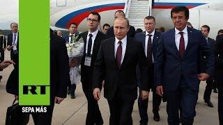 Putin llega a Antalya para participar en la cumbre del G20
