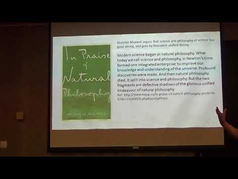 Boscovich Unified field theory and Atomism given by Roger Anderton 28 aug 2017