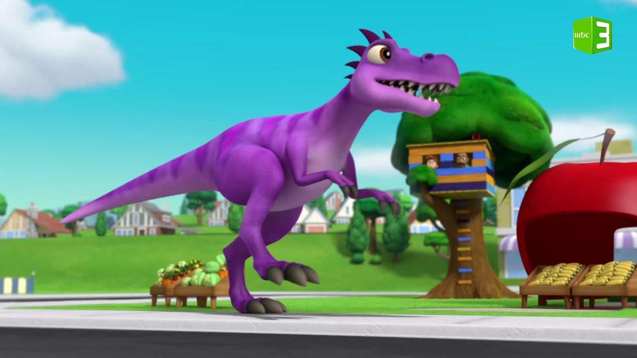 ديناصور يهاجم المدينة