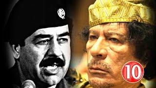 فيديو.. أسوا نهاية لـ 10 حكام عرب