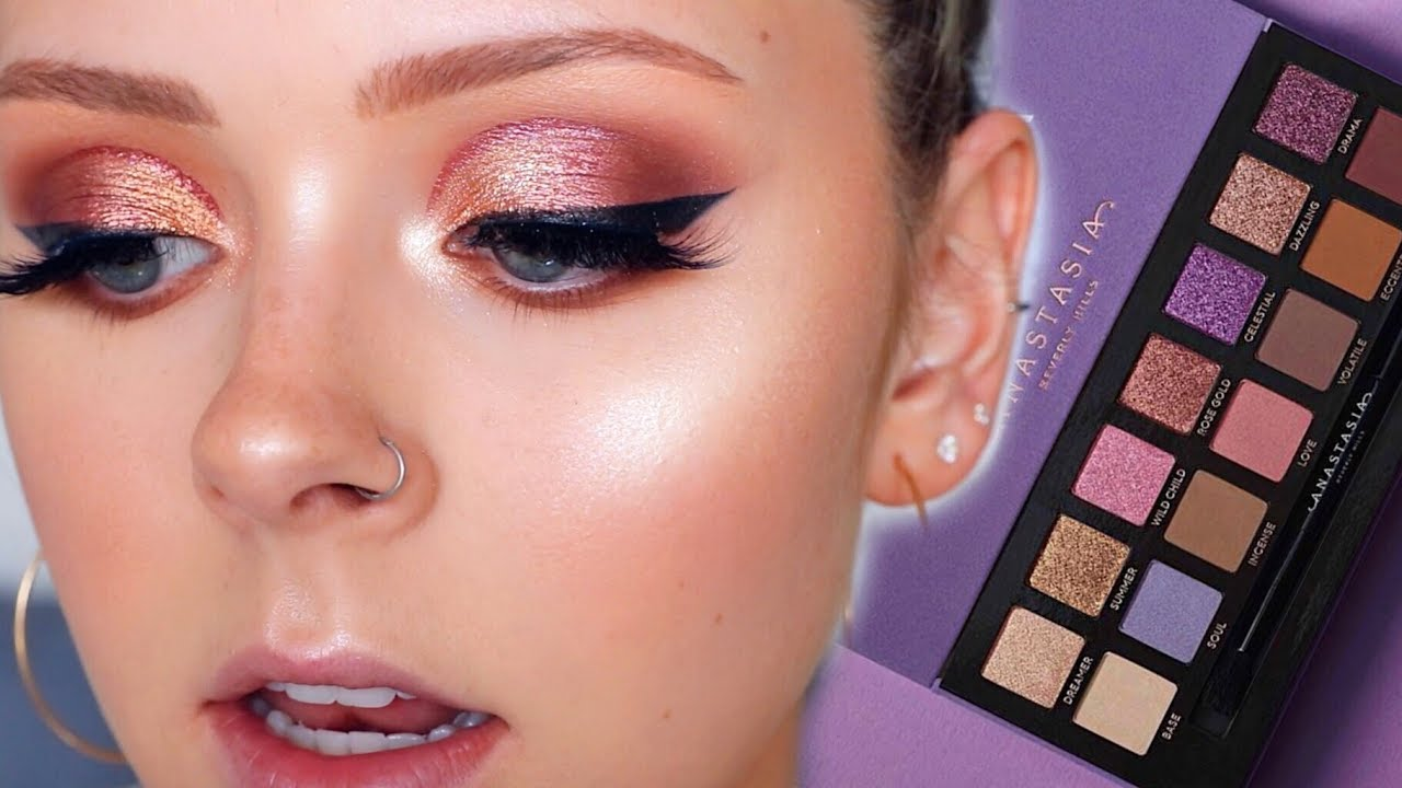 NORVINA ABH PALETTE CUT CREASE TUTORIAL | First Impressions