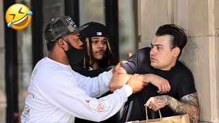 CAN I GIVE YOU SOME HEAD!? | IN THE HOOD PRANK! (MUST WATCH)