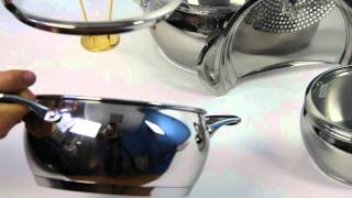 Набор посуды vinzer Astro 89038(Посуда винзер со склада в Киеве - артикул 89038. Подробнее на сайте http://electromotor.com.ua/video/household-appliances/4506-tableware-vinzer-8903., 2012-08-28T09:53:50.000Z)