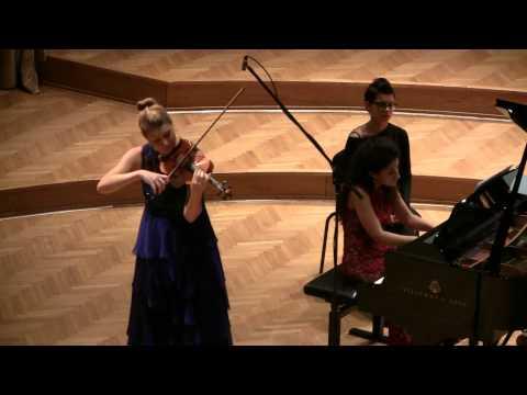 Tanja Sonc: Henryk Wieniawski - Polonaise Brillante op.21