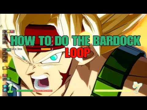 {DBFZ} How To Do The Bardock Loop