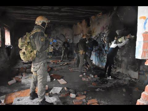 Поліція Луганщини: 16_12_2019_На Луганщині поліцейські провели масштабні навчання