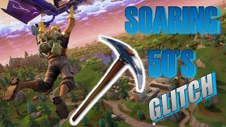 Fortnite Soaring 50's Pickaxe Glitch!