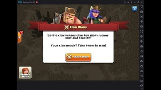 CLASH OF CLANS (war time)