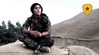 Jı Şerwânê YPJ jıbo Şehid (Nuda Karker) Stran..02.11.2014