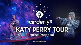 SURPRISE PROPOSAL! GAY COUPLE ENGAGED ONSTAGE AT KATY PARY WITNESS TOUR BARCLAYS CENTER - CINDERLY