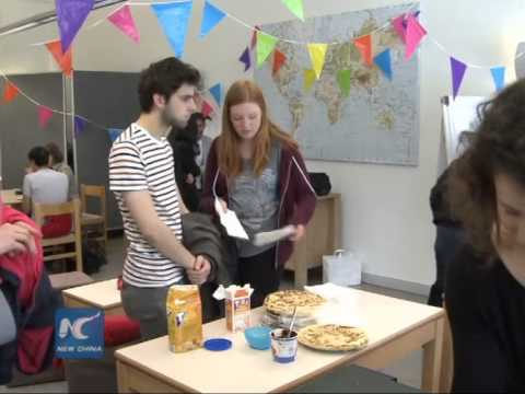 Pancake sale for Nepal quake