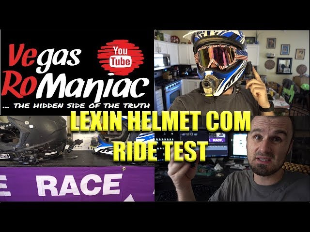 Lexin Helmet to Helmet Communicator TEST IS it BETTER than SENA