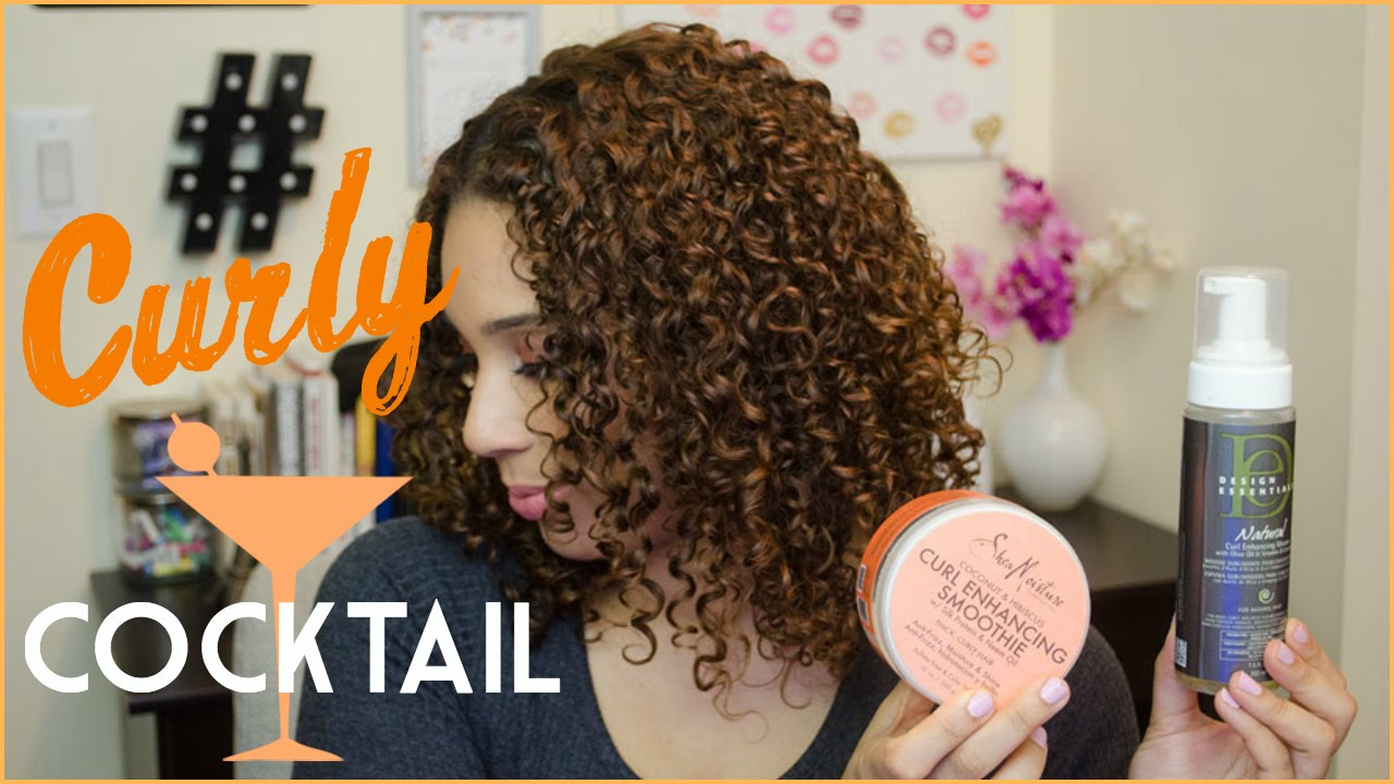 curly cocktail shea moisture