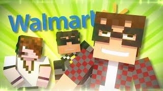 Minecraft Animated Short : POOPING IN WALMART?!