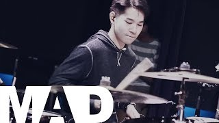 [MadpuppetStudio] They That Wait - Fred Hammond ft John P. Kee (Drum Cover) | Note Weerachat thumbnail
