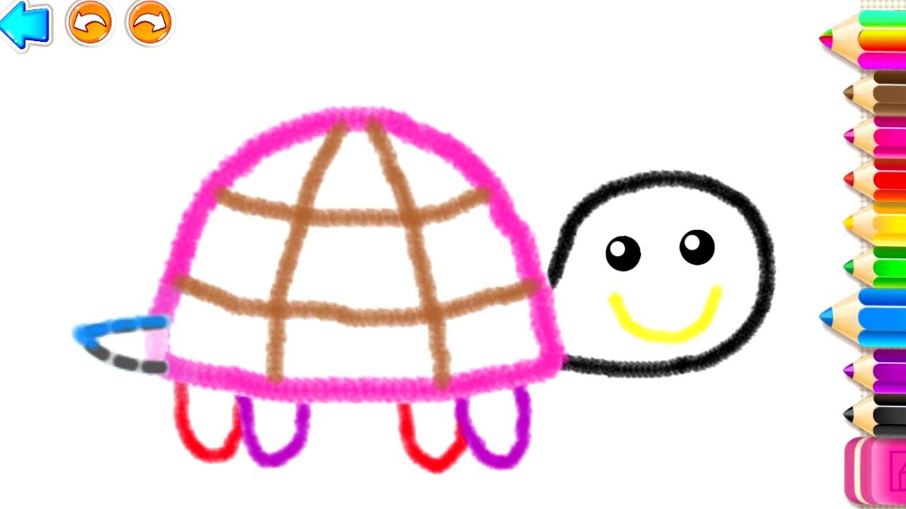 РИСОВАЛКА! Раскраски Детские Игры для Детей 2 лет ...