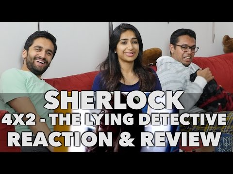 Sherlock - 4x2 The Lying Detective - Reaction Review!