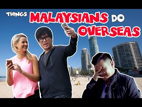 Things Malaysians Do Overseas - JinnyboyTV