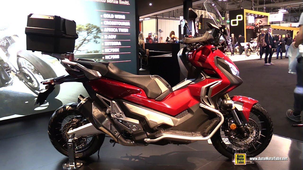 2018 honda x adv 750 travel edition walkaround 2017 eicma motorcycle exhibition youtube. Black Bedroom Furniture Sets. Home Design Ideas