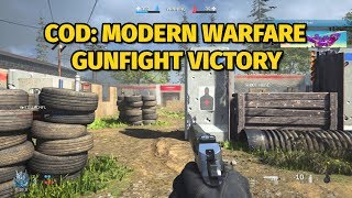 Call of Duty: Modern Warfare Gunfight Alpha Gameplay | Victory on Speedball