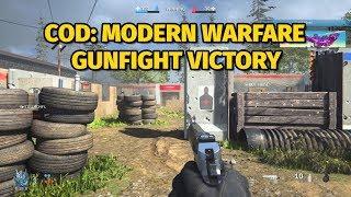 Call of Duty: Modern Warfare Gunfight Alpha Gameplay   Victory on Speedball