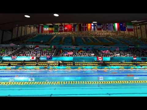 Londres 2012 le jeu vid o officiel des jeux olympiques for Piscine olympique
