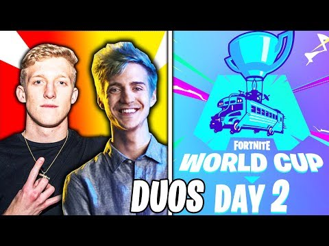 🔴 Fortnite World Cup Finals DUOS LIVE - WEEK 2 DAY 2 - Ft. Tfue, Ninja & Nick eh 30