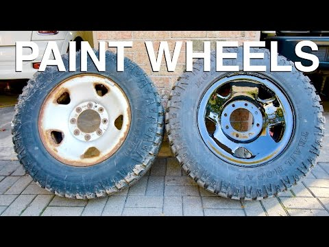 How to Repaint Your Wheels (ANY COLOUR)