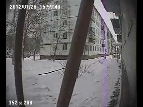 как воруют домофоны в Усолье-Сибирское