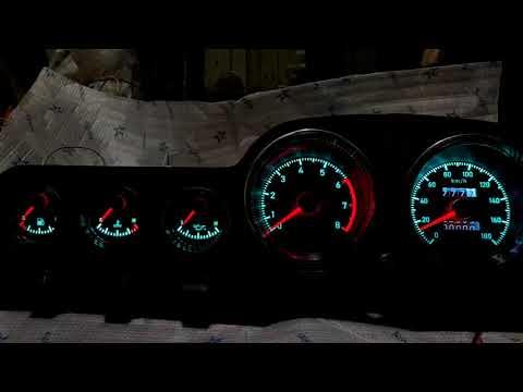 Тюнинг панель ВАЗ-2106 с плавным розжигом и затуханием