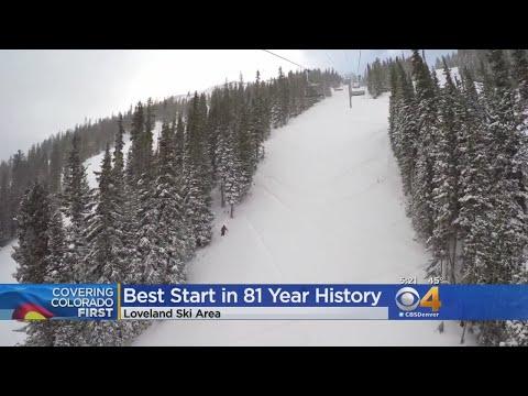 Loveland Ski Area Seeing Historic Start To 2018 Ski Season
