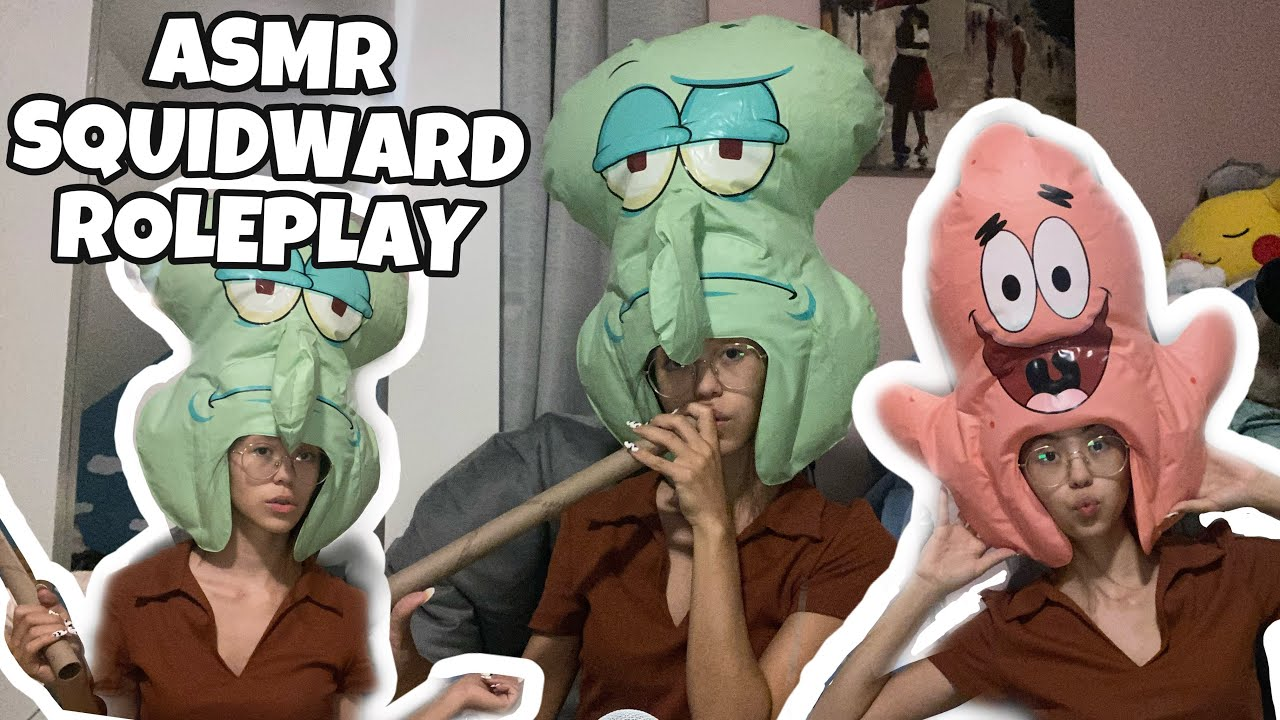 ASMR   Squidward Roleplay