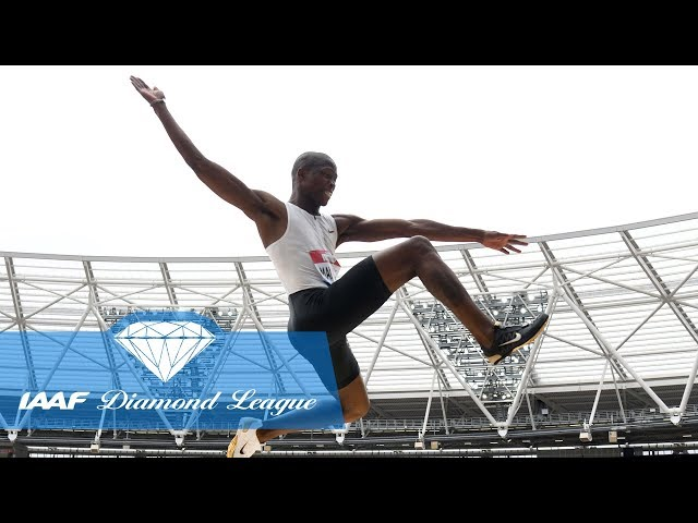 Top 10 in the history of IAAF Diamond League long jump