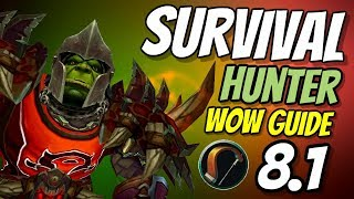 Survival Hunter PvE Guide 8.1 | Talents, Rotation & Stats | World of Warcraft Battle for Azeroth