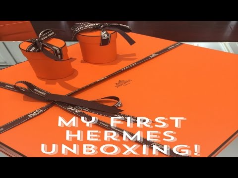 First Hermes Unboxing: Garden Party 30