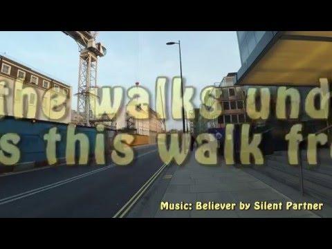 Walking from Paddington to Waterloo