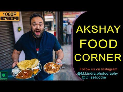 Ghanta Ghar Ke Famous Chole Bhature And Chole Chawal At Akshay Food Corner