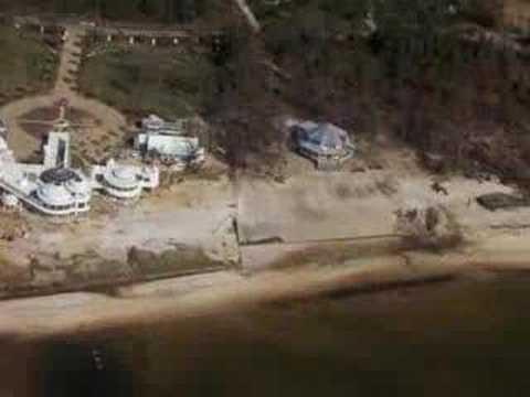 Gulf Coast post-Katrina from the air