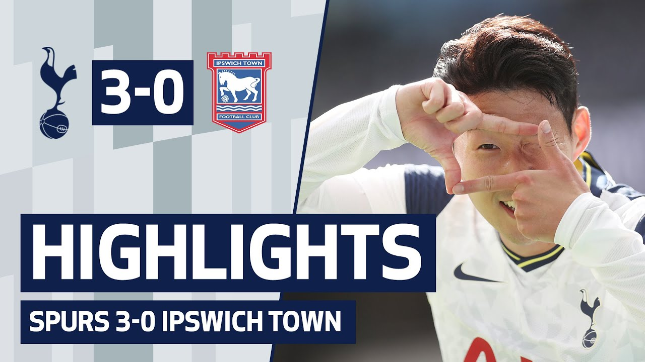 HIGHLIGHTS | SPURS 3-0 IPSWICH TOWN