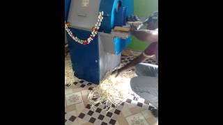 Maravalli kilangu cutting for chips