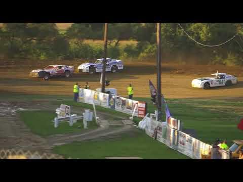 Street Stock heat 9/1/2018 Pit View, Woodhull Raceway