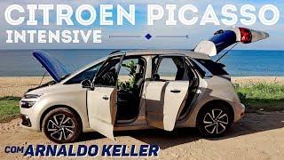 Teste Citroen C4 Picasso Intensive com Arnaldo Keller 2
