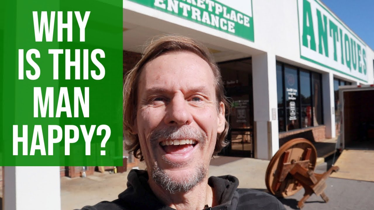 I SCORED IN THIS ANTIQUE MALL! | VINTAGE RESELLER SHOPPING TOUR