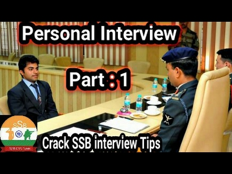 Personal Interview part:1